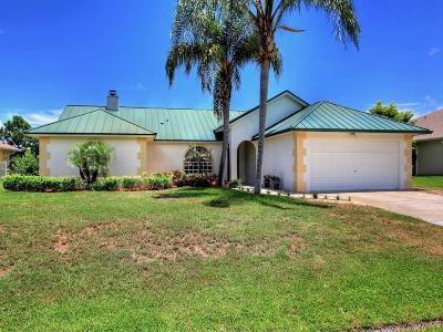 Sebastian Single Family Home For Sale: 973 George Street