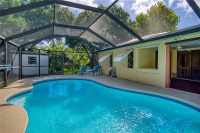 Sebastian Single Family Home For Sale: 1611 Coral Reef Street