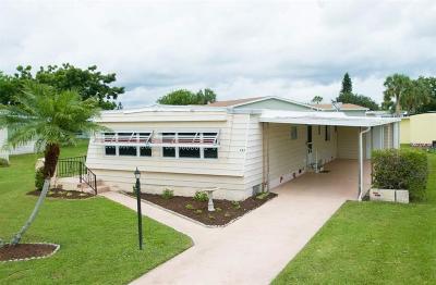 Sebastian Single Family Home For Sale: 945 Laurel Circle