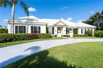 Vero Beach, Indian River Shores, Melbourne Beach, Melbourne, Sebastian, Palm Bay, Orchid Island, Micco, Indialantic, Satellite Beach Single Family Home For Sale: 181 Seaspray Lane
