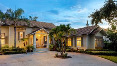 Vero Beach, Indian River Shores, Melbourne Beach, Melbourne, Sebastian, Palm Bay, Orchid Island, Micco, Indialantic, Satellite Beach Single Family Home For Sale: 861 River Trail