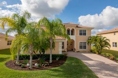 Vero Beach, Indian River Shores, Melbourne Beach, Melbourne, Sebastian, Palm Bay, Orchid Island, Micco, Indialantic, Satellite Beach Single Family Home For Sale: 5065 SW Topaz Lane