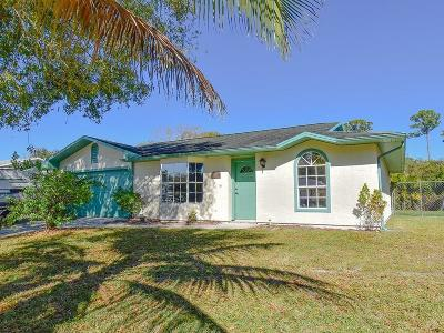 Fort Pierce Single Family Home For Sale: 7500 Paso Robles Boulevard