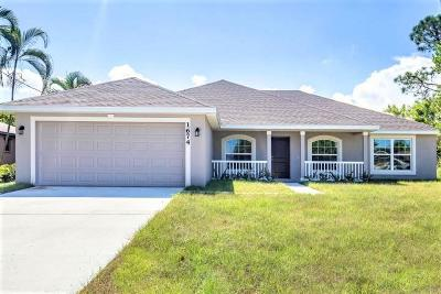 Oaks Of Vero Single Family Home For Sale: 1292 Scarlet Oak Circle