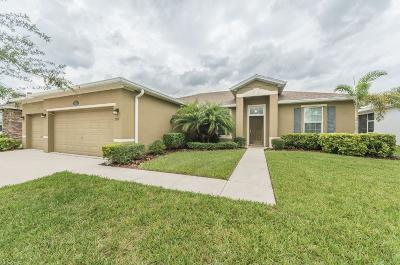 Sebastian Single Family Home For Sale: 378 Sebastian Crossings Boulevard