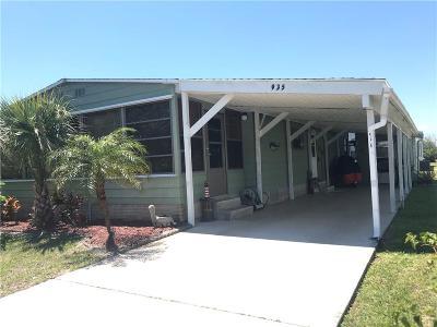 Sebastian Single Family Home For Sale: 935 Dogwood Drive
