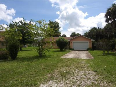 Fort Pierce Single Family Home For Sale: 2310 45th Street