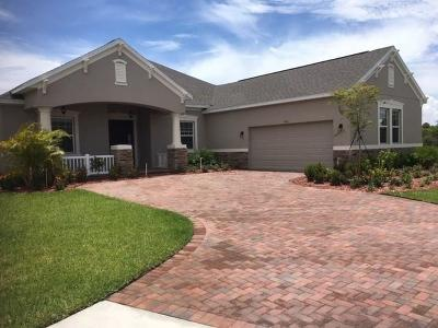 Vero Beach Single Family Home For Sale: 7161 Village