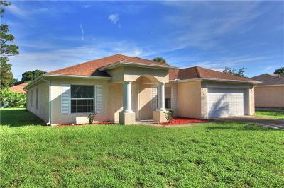 Sebastian Single Family Home For Sale: 525 Browning Terrace