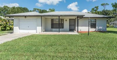 Sebastian Single Family Home For Sale: 497 Rolling Hill Drive