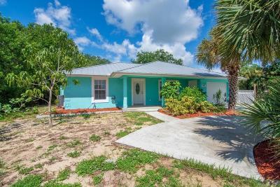 Sebastian Single Family Home For Sale: 1033 Louisiana Avenue