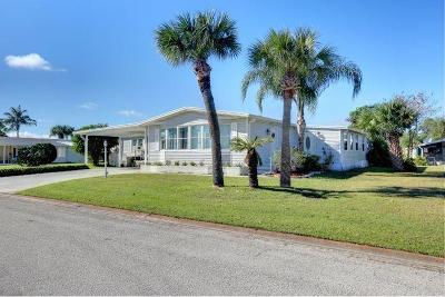 Sebastian Single Family Home For Sale: 605 Periwinkle Circle