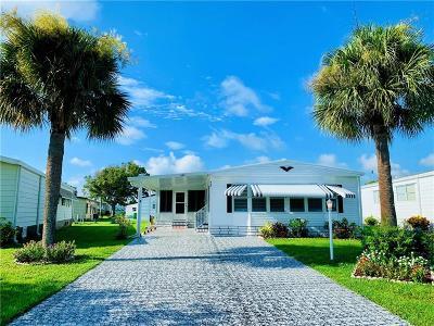 Sebastian Single Family Home For Sale: 925 Jacaranda Drive