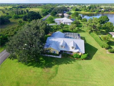 Sebastian Single Family Home For Sale: 736 Fischer Circle