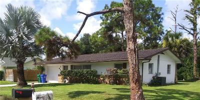 Sebastian Single Family Home For Sale: 638 Braddock Street