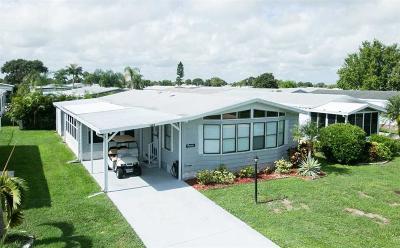 Sebastian Single Family Home For Sale: 1384 Barefoot Circle