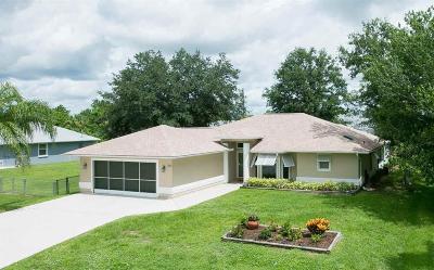 Sebastian Single Family Home For Sale: 933 Majestic Avenue
