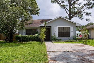 Vero Beach Single Family Home For Sale: 2340 85th Court