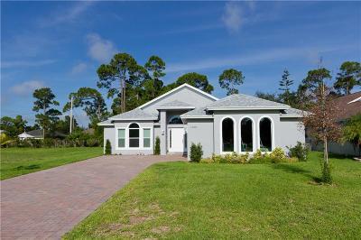 Vero Beach Single Family Home For Sale: 1615 SW 16th Court