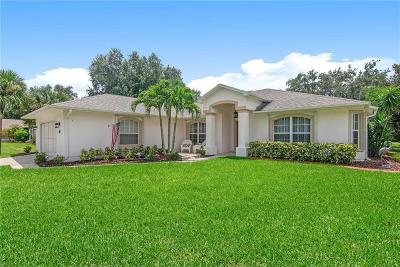 Sebastian Single Family Home For Sale: 698 Rolling Hill Drive