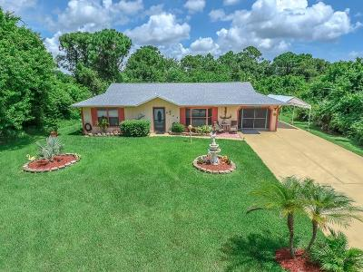 Fort Pierce Single Family Home For Sale: 6604 Ocala Avenue