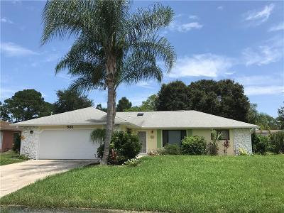 Sebastian Single Family Home For Sale: 561 Grace Street