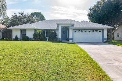 Sebastian Single Family Home For Sale: 409 Oak Street