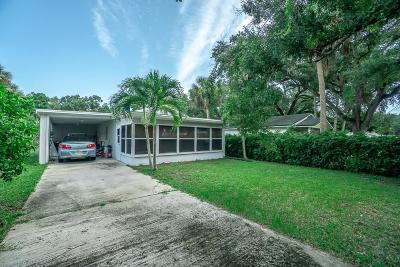 Vero Beach Single Family Home For Sale: 1086 26th Street