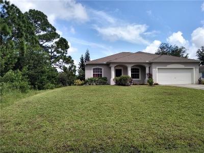 Vero Beach Single Family Home For Sale: 7986 101st Avenue