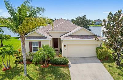 Vero Beach Single Family Home For Sale: 758 Carriage Lake Way