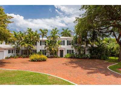 Miami Beach Single Family Home Active-Available: 4825 Lakeview Dr