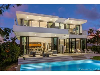 Miami Beach Single Family Home Active-Available: 450 West 62 St