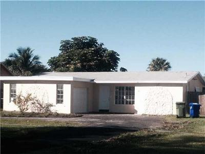 Pembroke Pines Single Family Home Active-Available: 9531 Johnson St