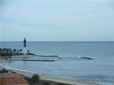 Pompano Beach Condo For Sale: 1630 N Ocean Blvd. #PH12