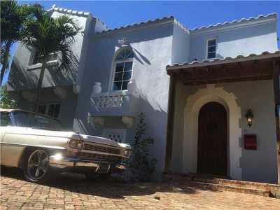 Miami Beach Single Family Home For Sale: 1766 Michigan Ave