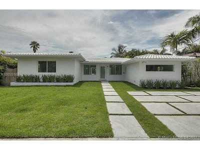 Miami Beach Single Family Home For Sale: 1640 Cleveland Rd