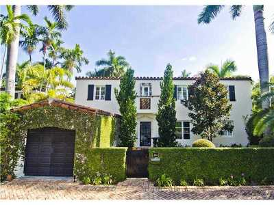 Miami Beach Single Family Home Active-Available: 5711 North Bay Rd