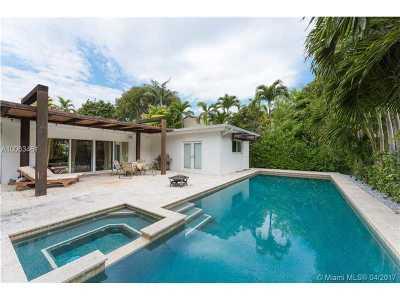 Miami Beach Single Family Home For Sale: 6131 La Gorce Dr