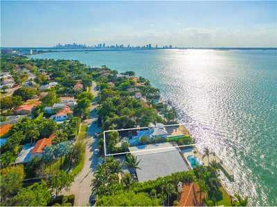 Miami, Miami Beach Single Family Home For Sale: 4774 N Bay Rd