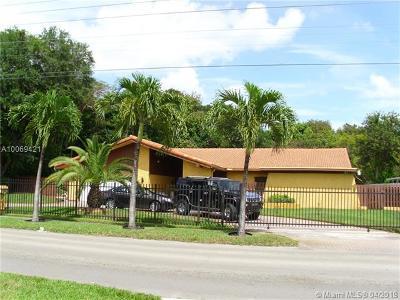 Miami-Dade County Single Family Home Active-Available: 14931 Northeast 8 Av