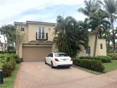 Aventura Single Family Home Active-Available: 20925 Northeast 31st Pl