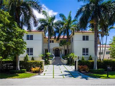 Coral Gables Single Family Home For Sale