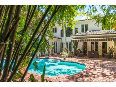 Coconut Grove Single Family Home For Sale: 3720 De Garmo Ln