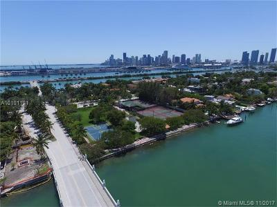 Miami Beach Single Family Home Active-Available: 222 Palm Av