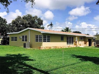 North Miami Single Family Home For Sale: 17300 NE 17th Ave