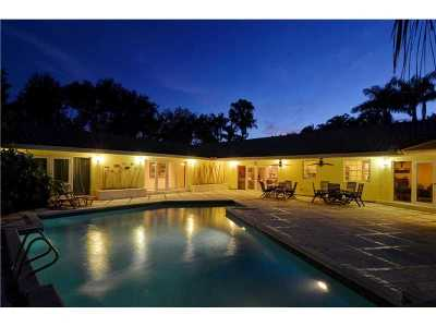 Coral Gables Single Family Home Active-Available: 11085 Paradela St