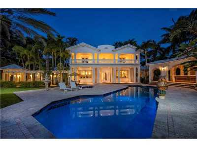 Miami Beach Single Family Home For Sale: 1 Star Island Dr