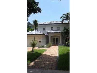 Coral Gables Single Family Home For Sale: 5133 Granada Blvd