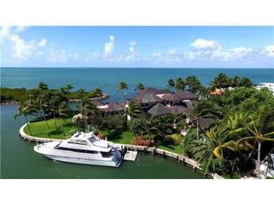 Key Biscayne Single Family Home Active-Available: 400 South Mashta Dr