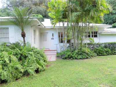 Coral Gables Single Family Home For Sale: 4666 Sunset Dr